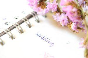Hochzeit in Pastell