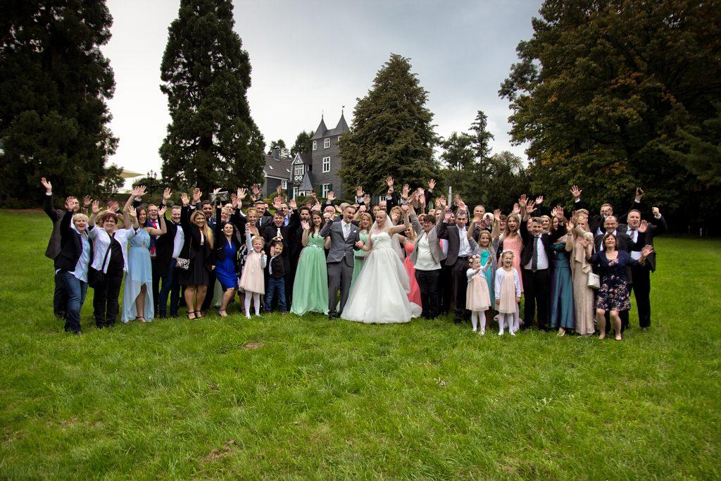 Hochzeit von Bibi & Max im Schloss Grünewald