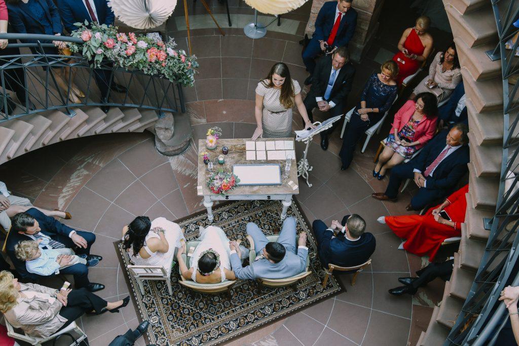 Hochzeit von Steffi und Christian im Jagdschloss Platte