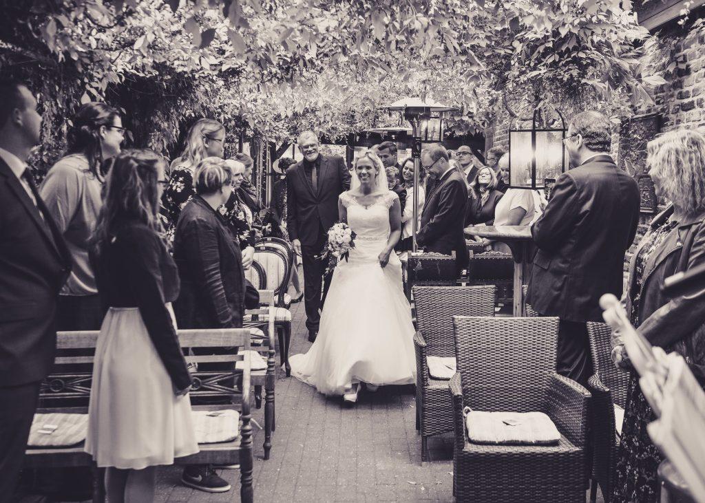 Hochzeit von Maike und Carsten in der Pferdepension Krauthaus