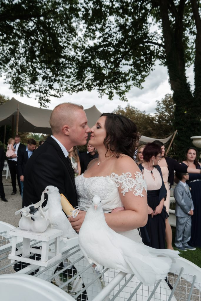 Hochzeit von Lisa und Daniel in der Villa Media