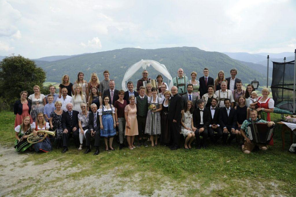 Hochzeit von Nicole und Till in Österreich