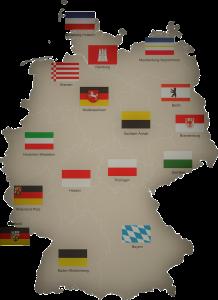 Freie Trauung Bundesländer